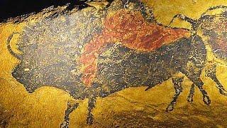 国立科学博物館、ラスコー展=クロマニョン人が残した洞窟壁画再現