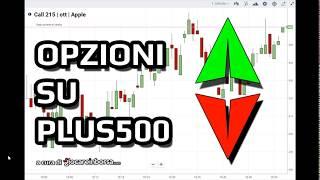 Opzioni su Plus500, cosa sono e come si fa trading