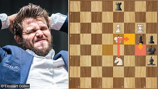 This Game is Not for Everyone || David Anton vs Carlsen || Tata Steel (2021)