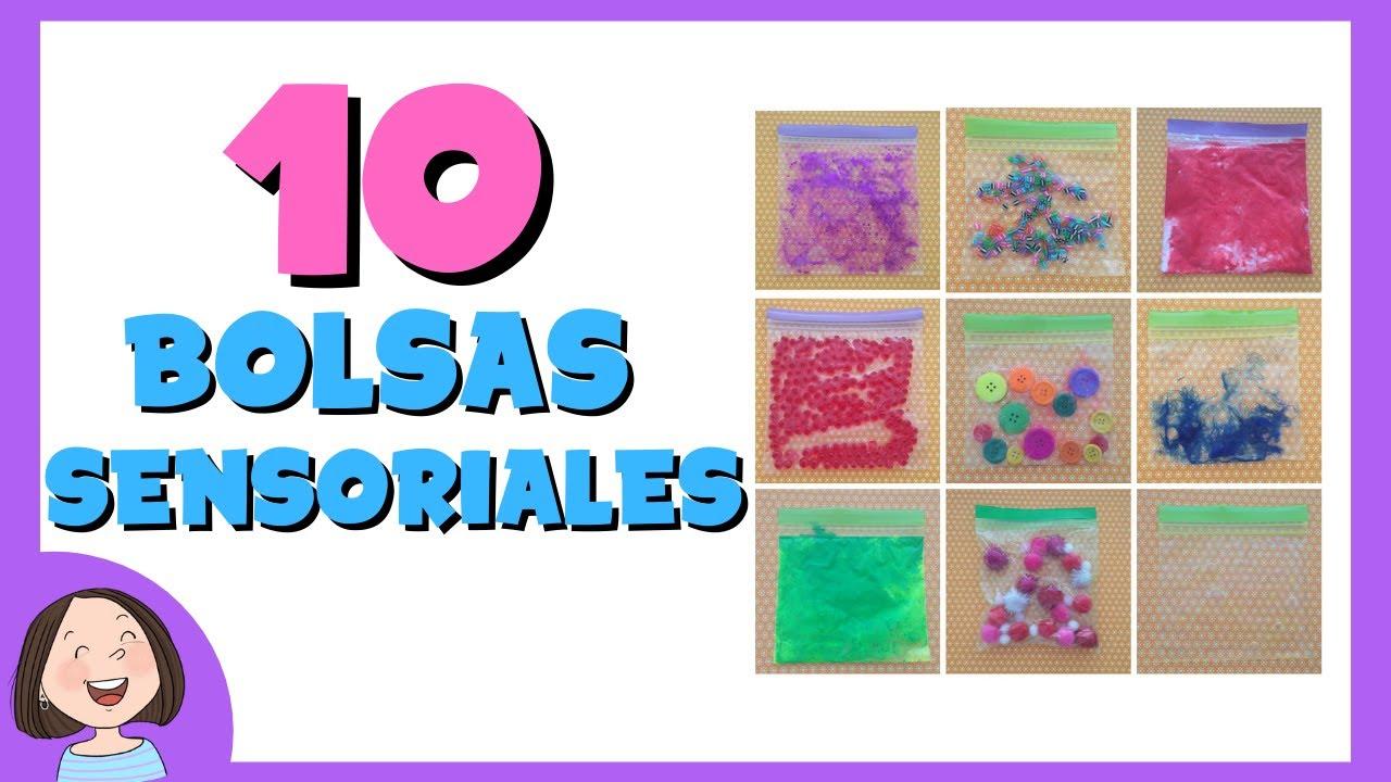 10 Bolsas sensoriales  10d7455ca149