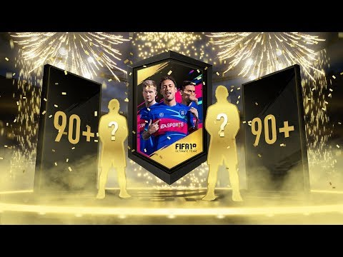 MY FIRST FIFA 19 PACK OPENING ( 1 MILLION FIFA POINTS!! ) 90 RATED PLAYERS PACKED!