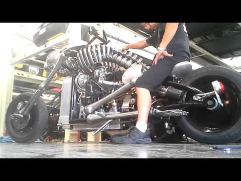 Skeleton bike startup