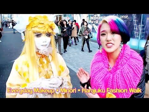 Everyday Makeup, Harajuku Fashion Walk & Minori w/ Rikarin