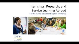 Internships Research and Service Learning Abroad