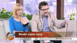 Bieg z żoną na plecach- Agnieszka i Hubert Roszkiewicz