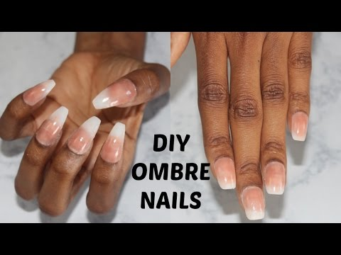 DIY: EASY FRENCH NAILS AT HOME NO ACRYLIC