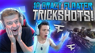 10 CRAZY FLOATER TRICKSHOTS!