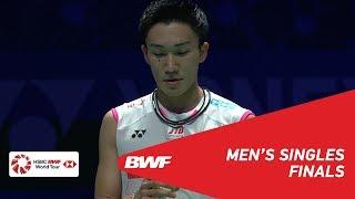F | MS | Kento MOMOTA (JPN) [1] vs Viktor AXELSEN (DEN) [6] | BWF 2019