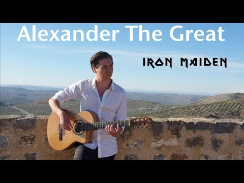 Alexander The Great (IRON MAIDEN) Acoustic - Thomas Zwijsen