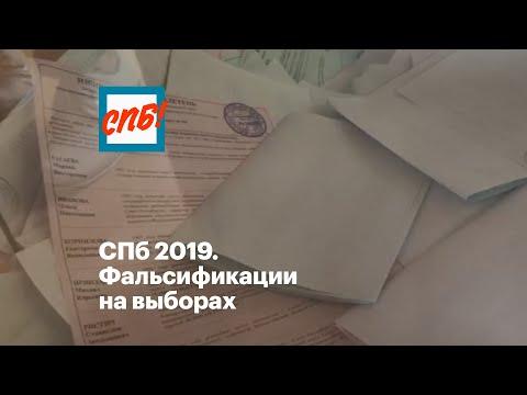 СПб 2019. Фальсификации