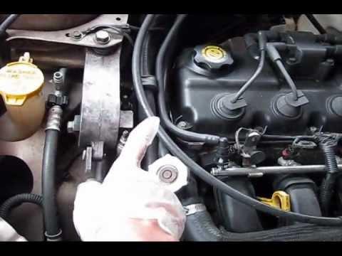 Dodge neon all 3 engine mounts broken - YouTube