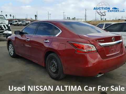 Used 2015 Nissan Altima For Sale in USA, Shipping to UAE