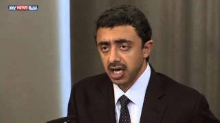 عبد الله بن زايد: هدنة سوريا خطوة بالاتجاه الصحيح