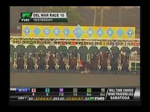 Del Mar Gate Mishap - 8/24/2013 : Race 10