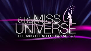 Miss Universe 2015 (Full Show HD)