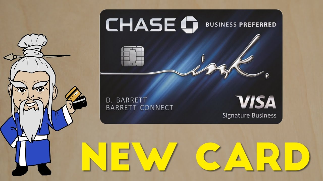 New Ink Business PREFERRED Credit Card Announced - YouTube