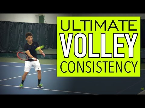 VOLLEY Tennis Lesson: Technique for ACCURACY & CONSISTENCY