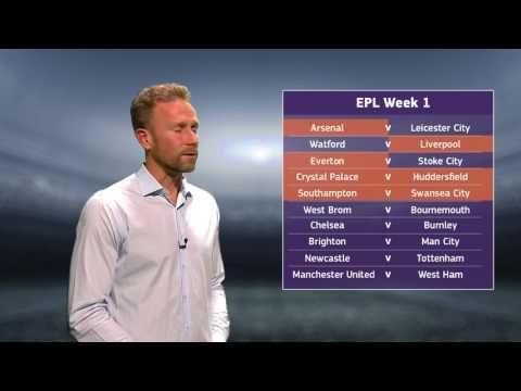 Clint Bolton's EPL Preview - Week 1