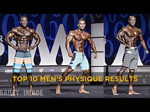 (HIGH QUALITY) TOP 10 Mr Olympia Men's Physique Full Posing