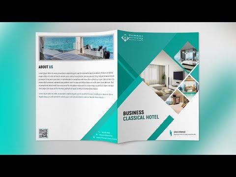 How to make a bifold brochure in photoshop cs6