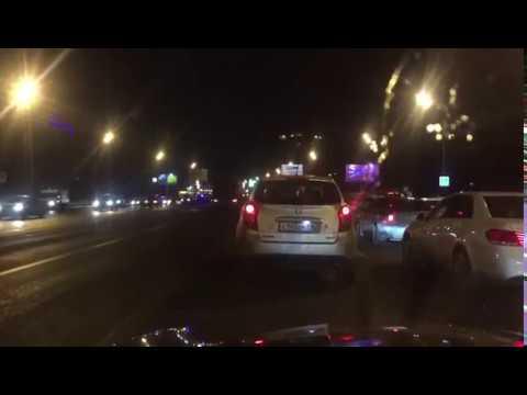 ДТП Кутузовский проспект 11.02.17 с пятью машинами, погибли 2 человека
