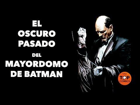 El  oscuro pasado de Alfred el mayordomo de Batman