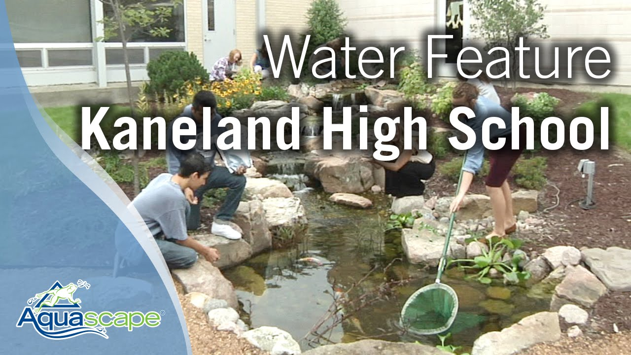 water feature for kaneland high youtube