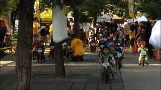 Strider Balance Bike Race - 2 Year Old Toddlers