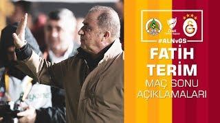 🎙 Teknik direktörümüz Fatih Terim'in maç sonu açıklamaları #ALNvGS