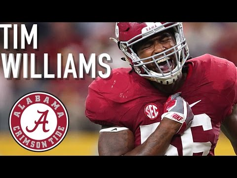 Tim Williams || Official Alabama Highlights