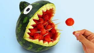 10 CRAZY TRICKS WITH WATERMELON