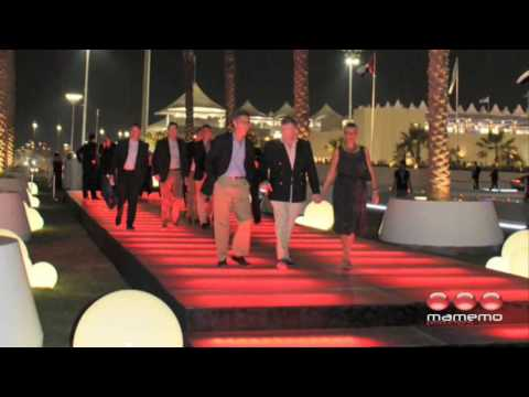 mamemo adds glamour with Abu Dhabi Grand Prix VIP Events