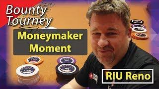 Poker Vlog 20: Moneymaker Moment @ RIU Reno