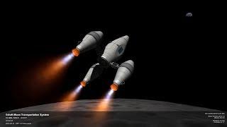 KSP 1.2.2 RescaleZ Ep57 - Ракета наживо і метро до Муни?