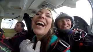 Maria Skydiving adventure