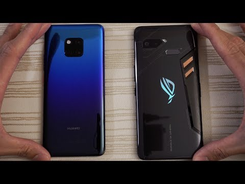 Mate 20 Pro vs ROG Phone - Speed Test! Which One Is BEAST?!