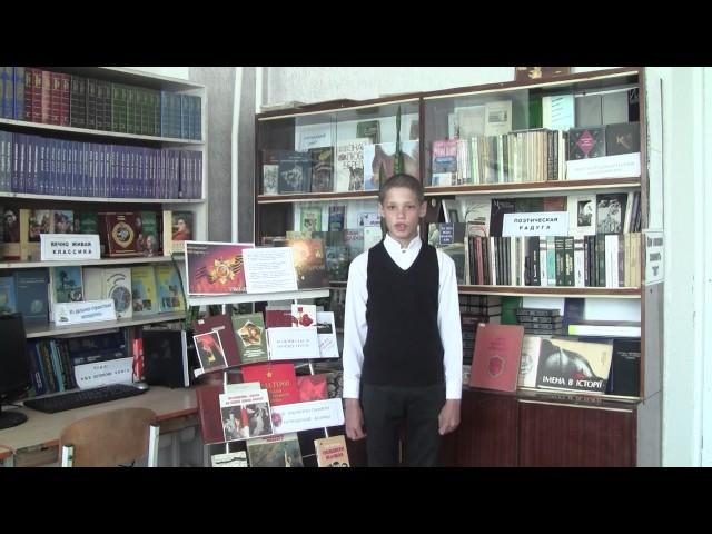 Изображение предпросмотра прочтения – ЕвгенийМандзий читает произведение «Рассказ танкиста» А.Т.Твардовского
