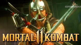 "INSANE 600 DAMAGE COMBO WITH KABAL! - Mortal Kombat 11 Online Beta: ""Kabal"" Gameplay"