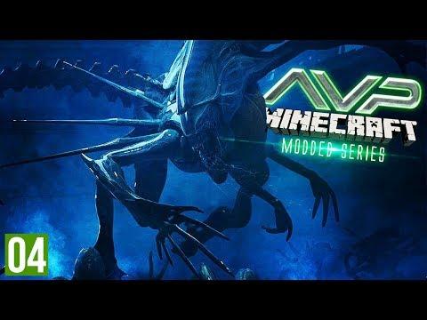 TWO ALIEN QUEENS?! | Minecraft AVP (Alien VS Predator Part 4)