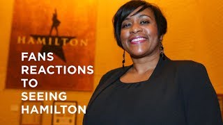 Fans react to seeing Hamilton in Dallas