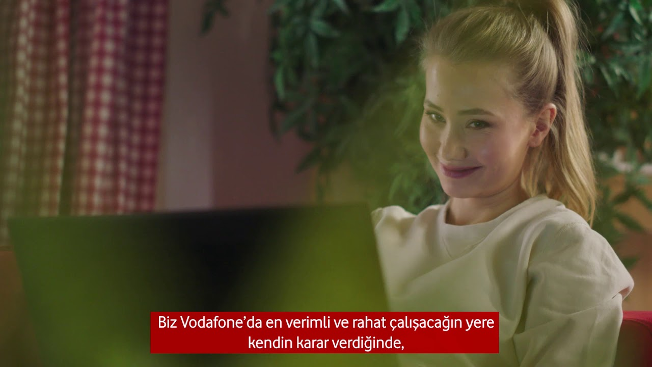 Vodafone'da Esnek Çalışma