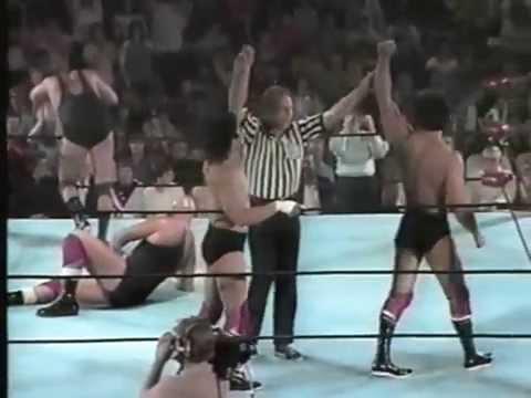 Rick Steamboat & Jay Youngblood vs Tom Lenz & Bill Howard
