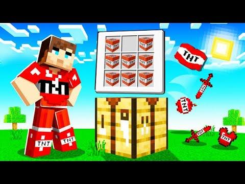Minecraft mais je peux Craft des armures avec tout les Blocs ! ( c'est trop cool )
