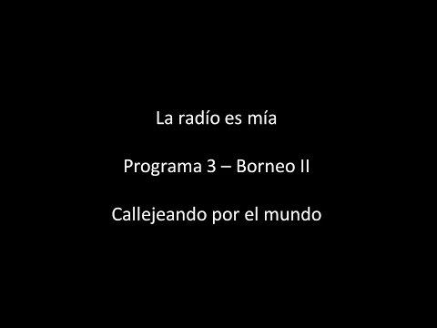 programa 3   Borneo II   La radio es mía 2016