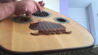 tuning the oud in all fourths