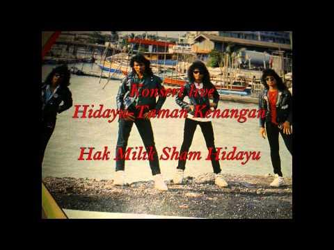 Hidayu-Taman Kenangan(KONSERT LIVE at GRIK 1991)