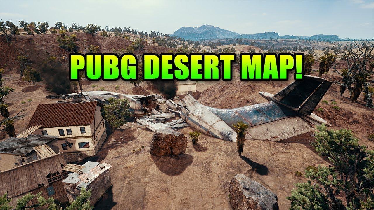 Playerunknown S Battlegrounds Newest Map: New Desert Map Screenshots!