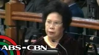 Miriam goes ballistic, says CJ not guilty