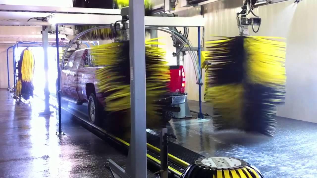 Macneil Rs 701 Superflex Wrap Around Tunnel Car Wash Tx Ok La