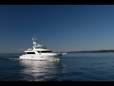 Nordlund 111' Sport Fish Yacht delivery to Seattle.